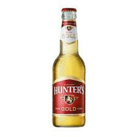 Hunters Gold 330ml 6 Pack