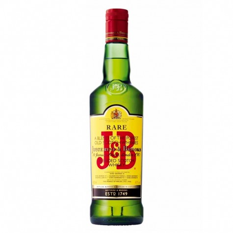 J&B Rare Scotch Whiskey 750ml