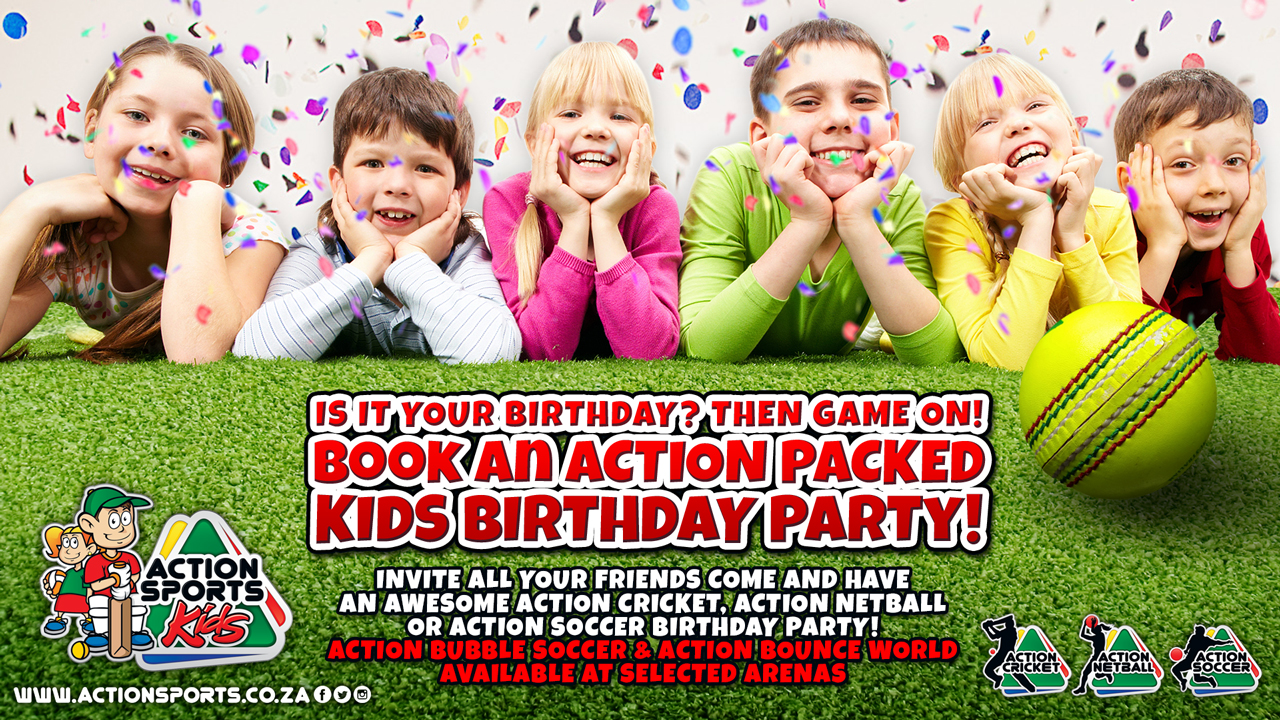Why Have A Kids Birthday Party At Action Sports