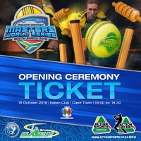 Masters World Series 2019 Opening Ceremony Ticket