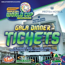 Indoor Netball World Cup 2019 Gala Dinner Ticket