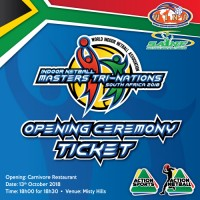WINA Masters Tri-Nations Opening Ceremony Tickets