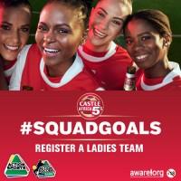 Castle Africa 5's Ladies Team Registration