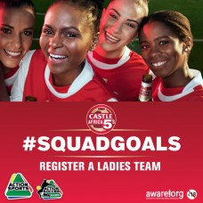 Castle Africa 5's Ladies Team Registration Closed